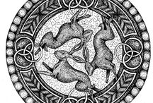 Three Moon hares