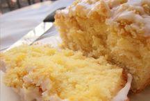 sobremesas e bolos