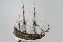 Model zeilschepen rijksmuseum