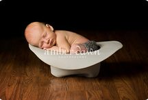 Newborn pic ideas / by Brittany Whitfield
