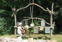 Klang Garten / DieKlangtagemöchten mit ihren Klang Garten-Vorführungen dazu beitragen, dass sich Menschen mit den Umständen und den konkreten Möglichkeiten eines klingenden und schwingenden Miteinanders beschäftigen.