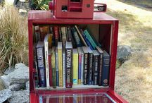Little Free Library... I so need this in my classroom or hallway or by my mailbox even!