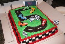Gâteaux En Forme De Voiture