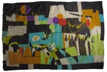 Textilie / dekor / Bruselský styl ( Expo 58 ) / šátky