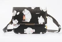Funky handbags