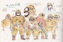 Ghibli / Miyazaki art