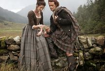 outlander stuff / an amazing set of books. it will now be a series on Starz. and i am obessed. / by Shelley Morgan