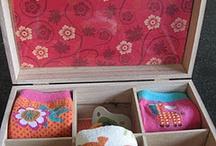 Sewing - Baskets, Bags etc / by Maaika Kruger