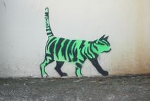 Animal Graffiti / I know that graffiti can be upsetting, an eyesore and an act of vandalism, but walking around streets around the world, there have been some, just tucked away that have made me smile. I hope they do you too!