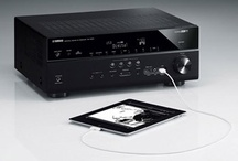Top Home Theater Receivers / These are some of the coolest a/v receivers available currently. All of these have tons of features and more power than most of us need.