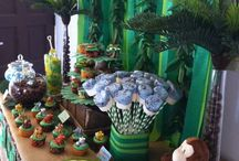 Mikah's 1st Birthday Party Themes
