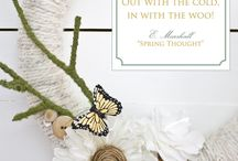 Spring Decor* / Everything Spring / by Christen Frederickson