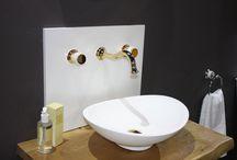 Cevisama Exhibition - Bronces Mestre / Bronces Mestre presenting the new collection Coquette for luxury bathroom designs. www.broncesmestre.com