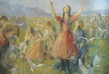 Minerva Teichert / What a story, what a lady and what an artist!