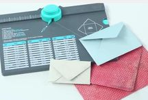 Envelope Punch Board / WeRMemory Keepers Envelope Punch Board...never buy another envelope...make your own...ANY SIZE!!