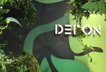 Dedon Jungalow / Dedon's stand at Salone del Mobile 2016 is representing jungle its cenografy.