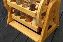 utencilios para la cocina hechos en madera