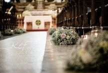 Wedding Baby breath and roses / Wedding Decor with baby breath and roses, tall centerpieces