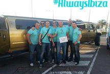Actividades que ofrece Always Ibiza / Nuestros clientes disfrutando de las mejores actividades en Ibiza