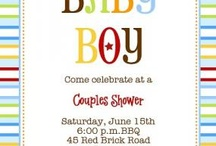 Couples baby shower / by lynda hutchens