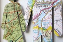 Map Love / Where to next??? Using maps to create beautiful crafts and home décor.