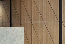 Timber veneer walls