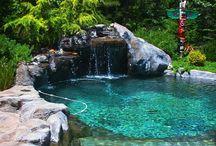 bazény-jezírka