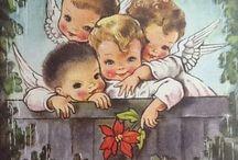Noël illustrations vintage