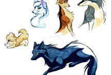 красивые звери