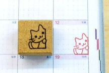 Stamp ideas for Hobonichi and journals