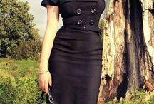 robes années 40