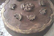 saját készítésű torták
