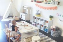 Shared play area upstairs