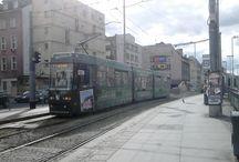 tramwaje wrocławskie i poznańskie / Tabor wrocławskich tramwajów