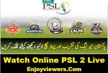 PSL 2 Live Streaming