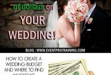 Save money on your wedding / wedding tips to save money