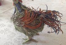 #easter crafts / Easter rooster