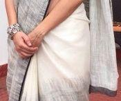 Neha Dhupia saree