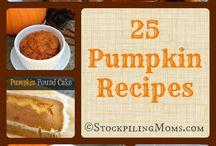 Fall recipes / by Jodi Boston