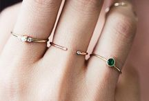 varias combinações lidas de anéis