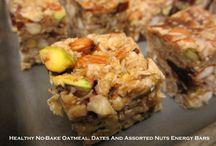 No-Bake Treats / Delicious treats that aren't baked.