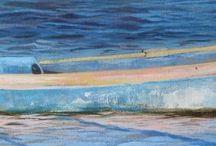 Art Work / Acrylic and oil on canvas