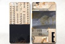 Collage and Assemblage / Exciting examples of artists constructing images using found fragments