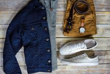 Men's Outfit Grids/Flatlays - Styles of Man / Original outfit grids from http://www.stylesofman.com