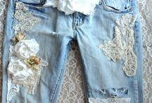 Jeans customizados diy