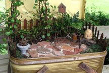 Faerie gardens / For faerie garden miniatures and DIY  / by Gianna Rose Reynolds