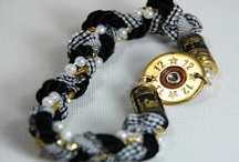 My shotgun shell jewelry / Take a workshop with me and make some of these cool pieces! www.simplyprettystuff.com