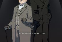 Cartoons-animation-anime-sketches