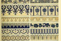 ornamenty vzory a i