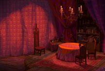 Layout - Interiors / Indoor sets